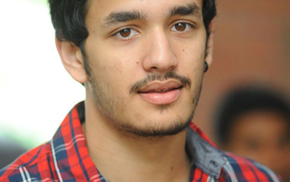 Akhil in Sreenu Vytla Direction…