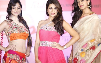 Trisha Pre Launch Fashion Show Photos