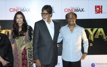 Bollywood Celebrities at Kochadaiiyaan Movie Launch