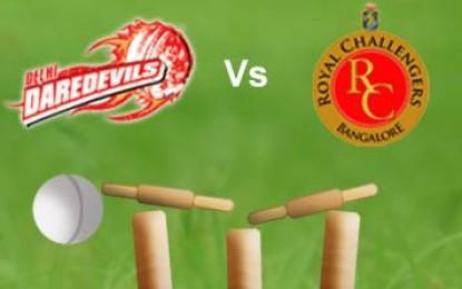 IPL 2nd Match – Delhi Daredevils Vs Royal Challengers Bangalore