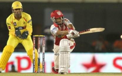 IPL 3rd Match – CSK Vs Kings XI Punjab Score