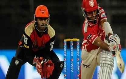 IPL 9th Match – Kings XI Punjab Vs Sunrisers Hyderabad