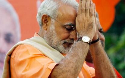 Narendra Modi Begs Superstar Rajinikanth