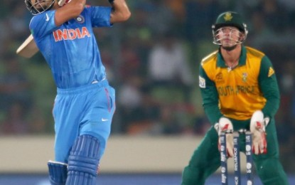 World T20 – Kohli Shines as Indian Thrash Southe African by 6 Wickets to Reach