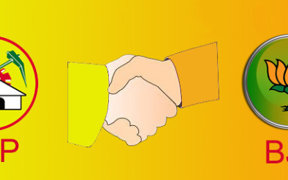 BJP & TDP have Finished their Alliance