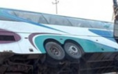 Volvo Bus Accident in Vijayanagaram