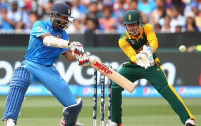 South Africa for the World Cup Shikhar Dhawan