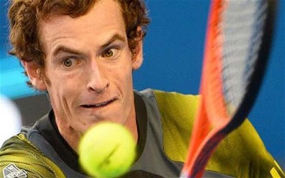 Andy Murray in Dubai Championships quarterfinals