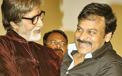 Amitabh Bachchan in the movie 150 Chiranjeevi?