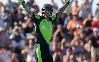 Ireland break down West Indies for 4 wickets
