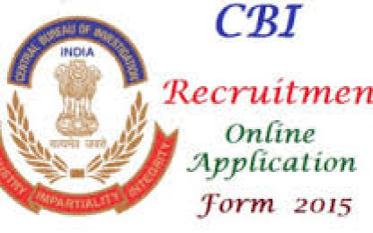 CBI notifies recruitment for 80 posts