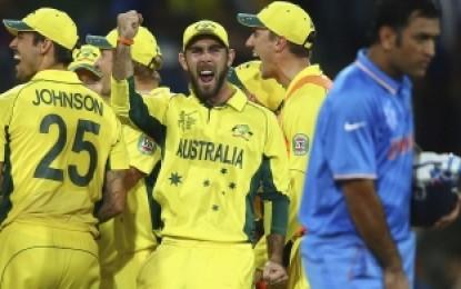 Australia Break Hearts Indians in Sydney, breaking into the World Cup Final 2015