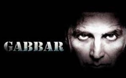 Gabbar Is Back: This time he is on the right side of the law