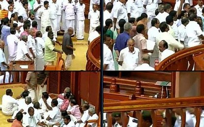 Kerala: 5-axis Oppn action gets suspended riot, House adjourned