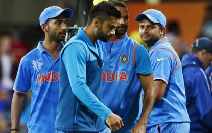 India vs Australia, semifinal: MS Dhoni tried