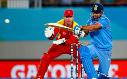 Dhoni, Raina lead India to six pedestrian victory over Zimbabwe