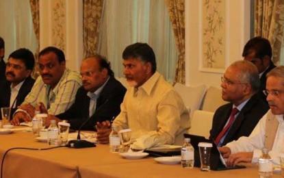 Andhra Pradesh: CM Chandrababu Naidu seeks electronics manufacturers from China
