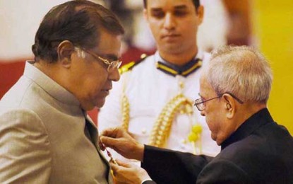 PIC TALK: Kota Srinivasa Rao conferred with Padma Shri