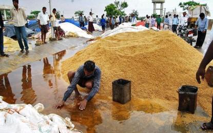 Rains pound Telangana new
