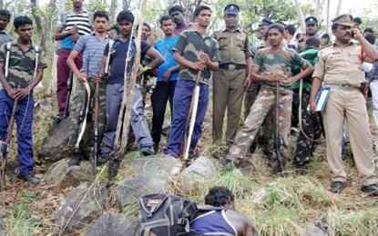 20 red sanders smugglers shot in AP, rights groups questioned meeting