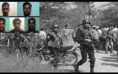 5 suspected terrorists killed in encounter in Telangana