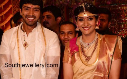 Naresh allari Virupa married in Hitex Hyderabad