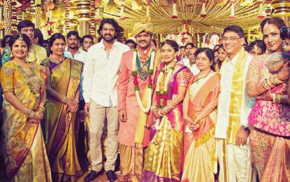 Manchu Manoj-Pranathi Reddy Marriage: Rajinikanth, Pawan Kalyan, Mahesh Babu, Suriya and other celebrities Attend