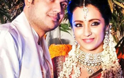 Trisha Krishnan Breaks Off Engagement, 'happy single' She Tweets