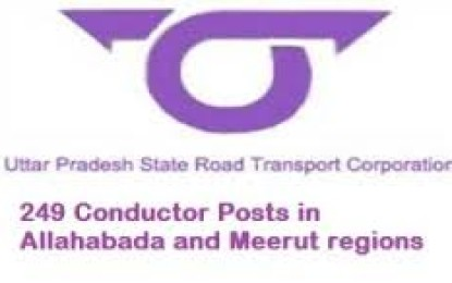 Board Uttar Pradesh Road Transport Corporation (UPSRTC) Recruitment 2015 Posts 249 Drivers
