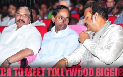 KCR Master Plan With Andhra Biggies