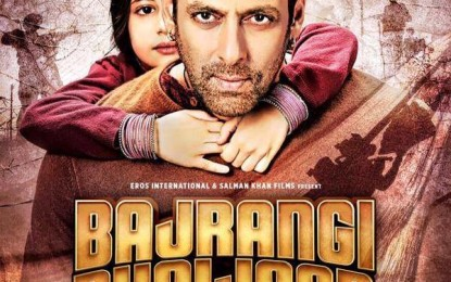 Mints 'Bajrangi Bhaijaan' Rs.27.05 crore on Monday, moving close to Rs 150 cr mark