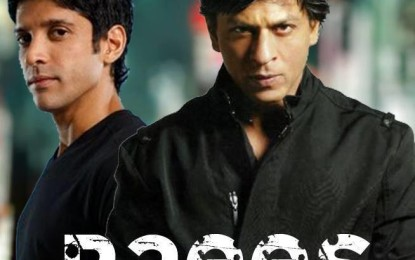 Raees first look is out and fans love Shah Rukh Khan