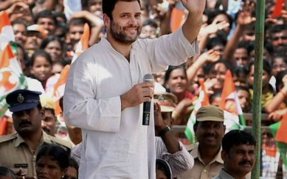 Rahul Gandhi TDP Govt accused of destroying the women's movement Self-Help Group