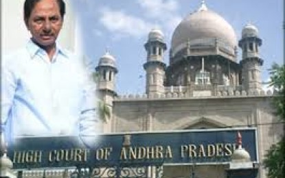 TRS MPs to raise issue of high courts for separate Telangana, Andhra Pradesh