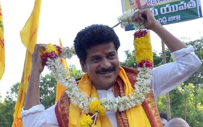 Revanth Reddy released, taken to TDP office in the rally
