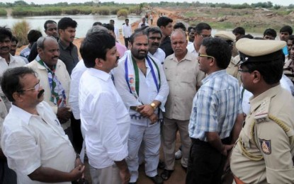 Opposition to the barrage across the Krishna Karnataka grows stronger