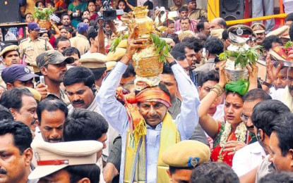 Bonalu celebrated with traditional fervor in Telangana