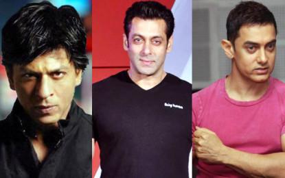 Salman Khan vs Shah Rukh Khan vs Aamir Khan in 2016
