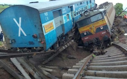 The death toll in the derailment of Kamayani, Janata Express trains rises to 27