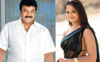 Anushka Shetty to star opposite superstar Chiranjeevi in his 150th film?
