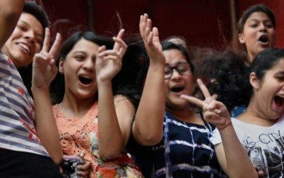 Girls outshone boys in the CBSE Class 10 examination results