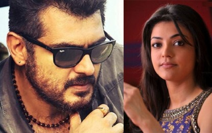 Kajal Aggarwal to star opposite Ajith in Thala 57