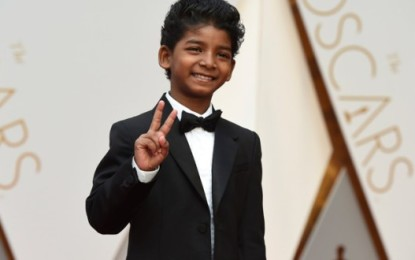 ANOTHER MUMBAI SLUMKID SUNNY PAWAR BASKS IN OSCAR GLORY