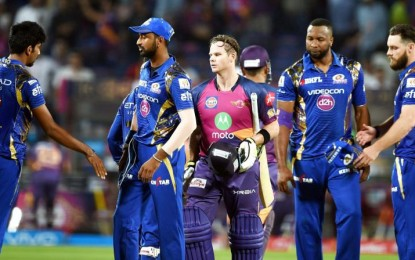 Steve Smith wins it in style for Rising Pune Supergiant