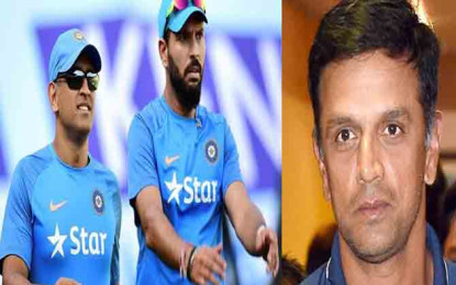 Dravid wants Dhoni and Yuvraj to be fired