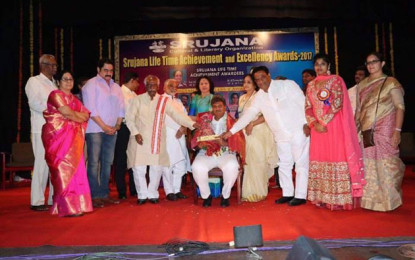 Nani bags Prize for Political Excellence