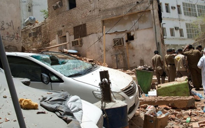 Suicide attack in frustrated Mecca