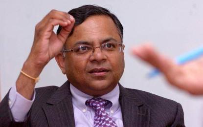 TCS Chairman rubbishes Trump Threat!