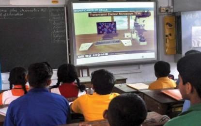 NRIs help develop smart classrooms in AP
