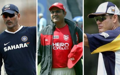 Shastri, Sehwag, Moody's favorites to be appointed coach of India